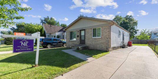 HOME SOLD! – 27521 Tighe St. Roseville 48066